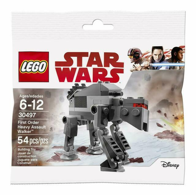 Lego 30497 Star Wars First Order Heavy Assault Walker Polybag  New Sealed