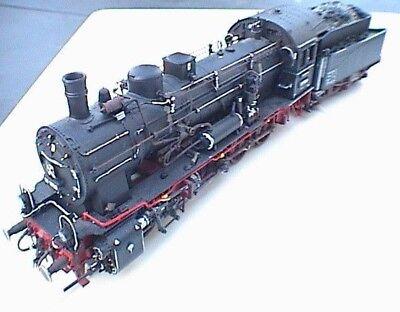 538nr. Locomotiva Lok Br 57 Dr Invecchiata In Scatola Originale-mostra Il Titolo Originale Pregevole Fattura