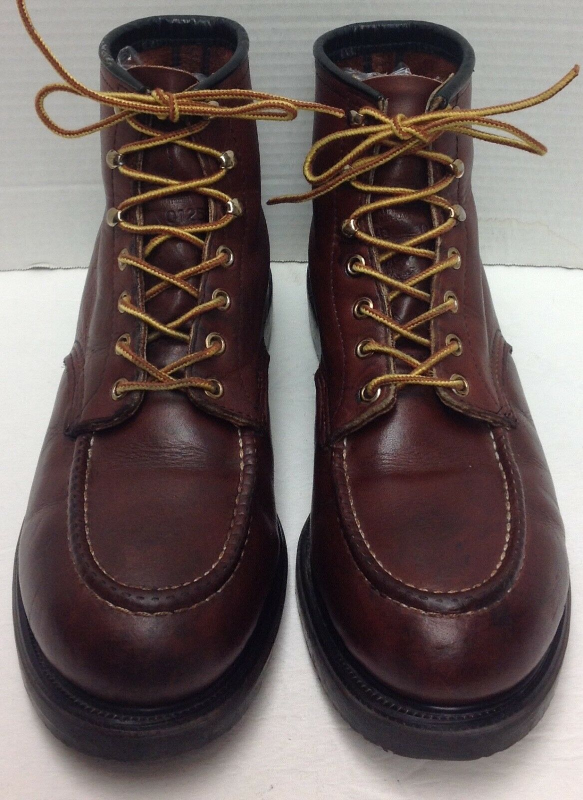 Red Wing Steel Moc Toe Safety Stivali, Brown 4439 Size 11.5 D