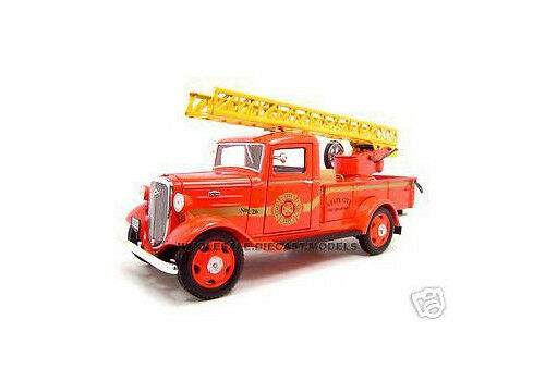 ordene ahora los precios más bajos 1935 Chevrolet Camión De Bomberos Bomberos Bomberos 1 24 Diecast Modelo De Unique Replicas 18628  60% de descuento