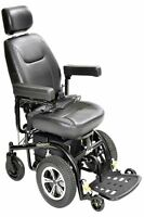 """Drive Trident Front Wheel Drive Power Wheelchair 20"""" Seat"""