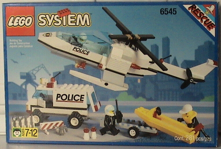 NIEUW LEGO Classic Town 6545 Search N'Rescue Sealed