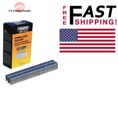 """Upholstery Staples 22-Gauge 5//8/"""" 5,000 per Box Gun Stapler Fastening Hand Tool"""