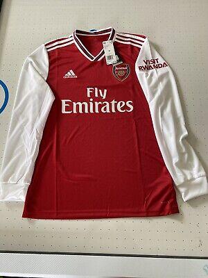 Adidas 2019 20 Arsenal Long Sleeve Home Jersey Red White Eh5645 Men Sz Medium Ebay