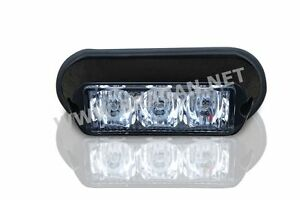 2x-AMBER-STROBE-FLASHING-LED-LIGHTS-RECOVERY-TRUCK-BREAKDOWN-LORRY-LAMPS-PAIR