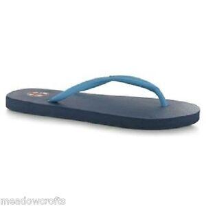 Mens Flip Flops NEW Size 9 / 43 - Navy Blue England Sandals Beach Shoes