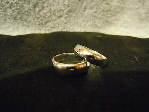 WHY WEAR STERLING? NEW PURE SILVER 999 BULLION WEDDING SET ANARCHY JEWELRY #B61
