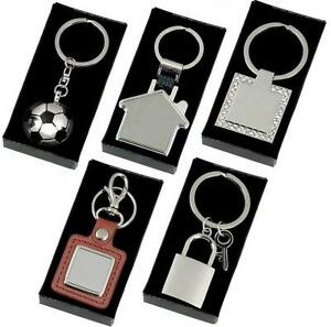 Keyrings-Chrome-Metal-With-FREE-ENGRAVING-FREE-P-P