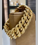 Imposant-Bracelet-maille-Americaine-Gourmette-Or-Jaune-18-Carats-40-gm miniature 1