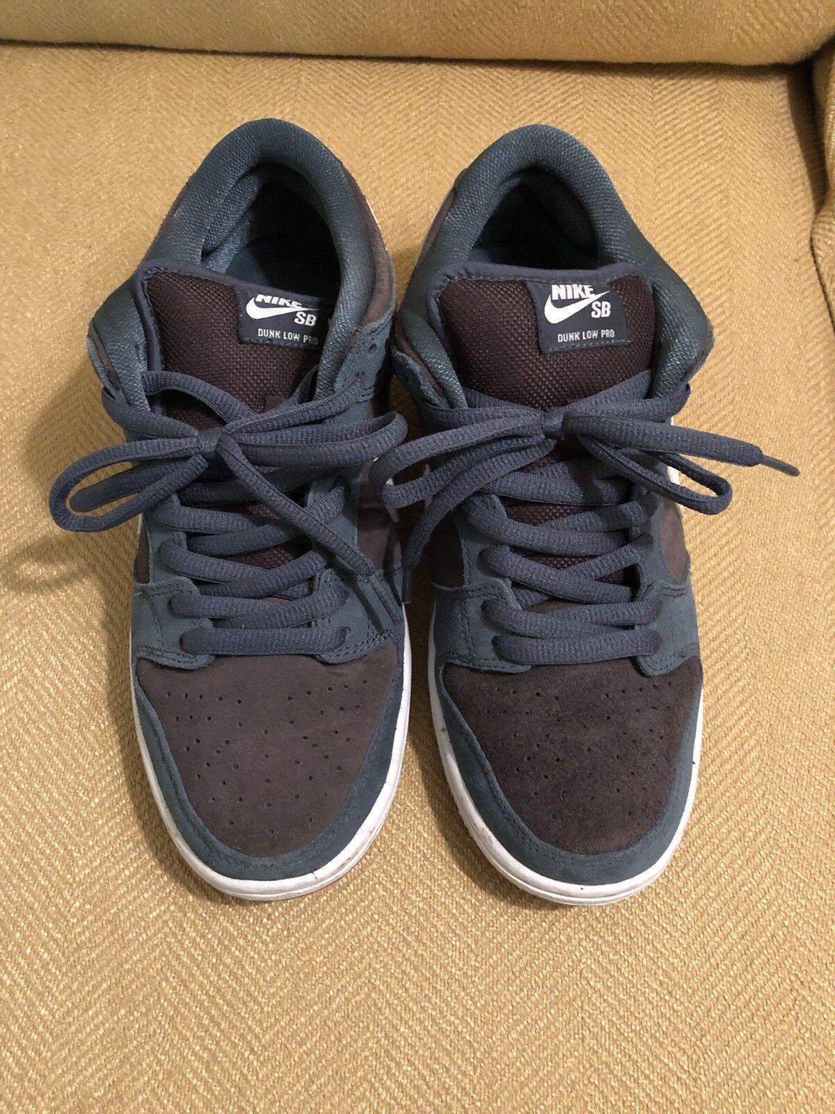 Nike sb dunk low slate bluee
