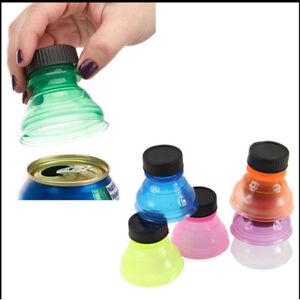 Details about  /6Pcs Soda Saver Pop Beer Beverage Can Cap Flip Bottle Top Lid Protector Colorful