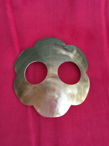 BEAUTIFUL MOTHER PEARL AND SHELL SARONG BUCKLE