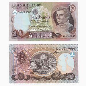 IRELAND - Allied Irish Banks £10 note - BYB ref: NI.107 - VF+.