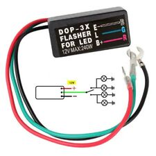 3 Pin 12v Electronic Motorcycle Atv Turn Signal Led Light Flasher Blinker Relay