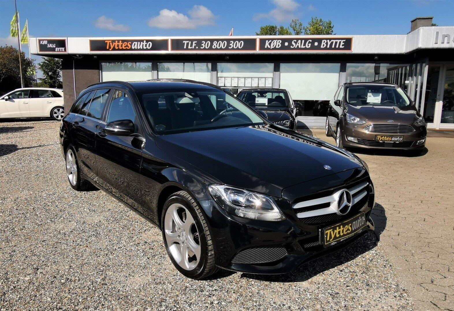 Mercedes C220 d 2,2 stc. aut. 5d - 246.800 kr.