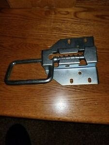 Garage Door Spring Loaded Slide Lock Pin And Handle Style