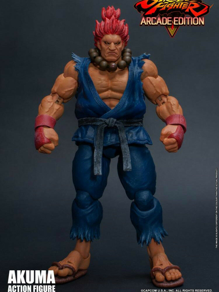 In-Stock 1 12 Scale  6in Storm Toys STREET FIGHTER V ARCADE EDITION AKUMA