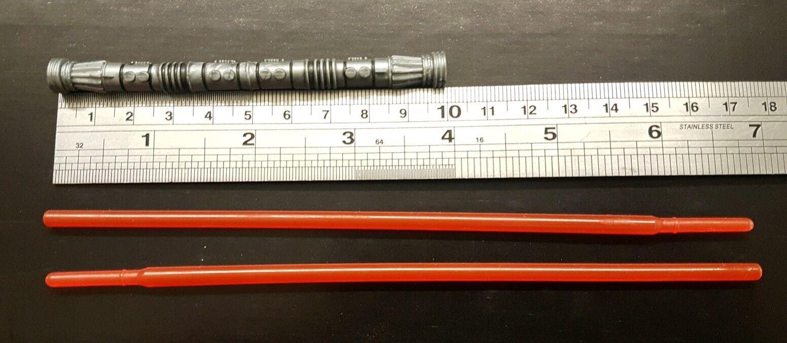 1   6 - skala  star wars  darth maul ist doppel - lichtschwert für kundenspezifische 12  - figur