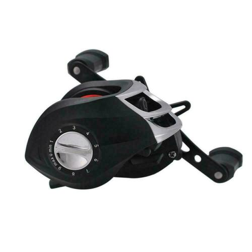 High Speed 7.2:1 Gear Ratio Baitcast Fishing Reel Metal Baitcasting K2J6