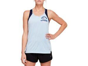 ASICS Women's LA Crew Tech Racerback Running Clothes 2012B348