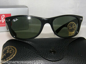 9d773afab18 Image is loading New-Authentic-Ray-Ban-New-Wayfarer-Sunglasses-RB2132-