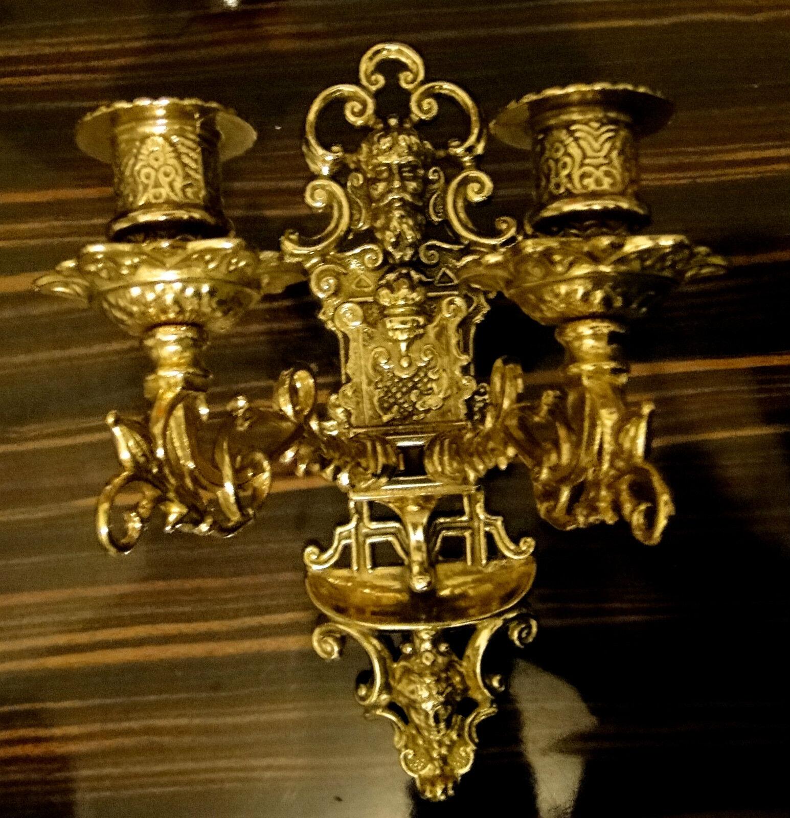 Lámparas de Piano Orientable Varios Brazos Candelabro Latón Parojo Decoración