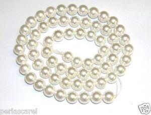 Gewinde-Perlas-shell-6-mm-Thread-40-cm-65-66-Teile-ca-Perlas-Schale-Qualitaet