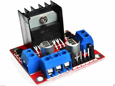 L298N Doppel H Bridge DC Motortreiber Driver Controller Modul für Arduino 3266