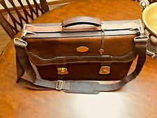 Made Italy bag handbag man briefcase genuine leather workbag chocolate 7005 US