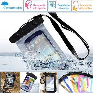 Custodia-smartphone-waterproof-sea-impermeabile-acqua-cover-per-Samsung