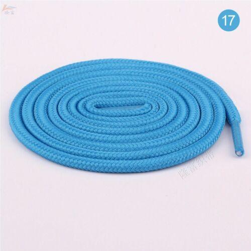 Unisex Colorful Round Shoelaces Athletic Sport Sneaker Strings Shoe Lace Acc