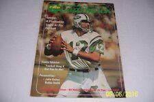 1973 Pro Quarterback NEW YORK Jets JOE NAMATH No Label WHY HE HAS TO WIN AGAIN