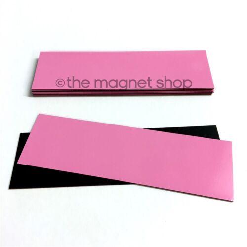 30 mm x 100 mm Pack de 10 Magnétique effaçable à sec étiquettes tableau blanc Precut