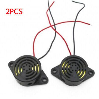 2PCS SFM-27 DC 3-24V Industrial Continuous Sound Electronic Buzzer NEW