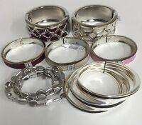 Wholesale Lot Of 10 Bracelets: Fashion Jewelry Name Brand Quality