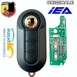 Chiave-Chip-elettronica-COMPATIBILE-per-FIAT-500-ABARTH-TELECOMANDO
