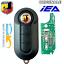 Chiave-Chip-elettronica-COMPATIBILE-per-FIAT-500-ABARTH-TELECOMANDO miniatura 1