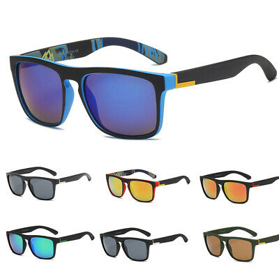Men Polarized Sport Sunglasses UV400 Outdoor Driving Fishing Square Glasses New
