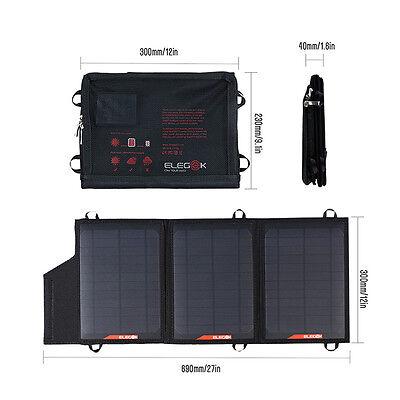 21W Portable foldable Solar Panel Charging Bag Folding For Phone Laptop Computer