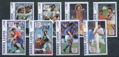 Fußball Motive Niedrigerer Preis Mit 265202 Sierra Leone Nr.2107-2114** Fußball 100% Original