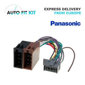 panasonic wiring harness ebay panasonic 16 pin iso wiring harness loom adaptor wire radio  wiring harness loom adaptor wire radio