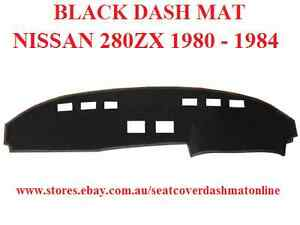 DASH MAT, DASHMAT TO SUIT NISSAN 280ZX 1980-1984, BLACK