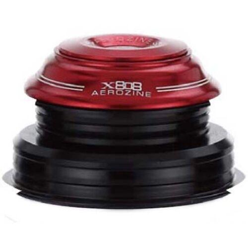Aerozine Semi Integrated tapered headset 44//56 IITs 44 mm x 56 mm MTB Vélo Rouge