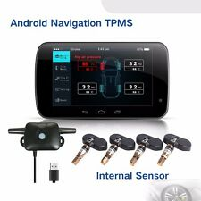 For All Android GPS Car Dvd TPMS Tire Pressure Monitoring System Exterior Sensor