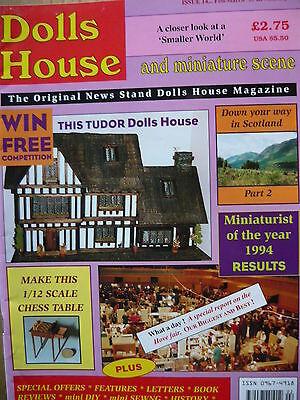 Aspirante Dolls House E Scena In Miniatura Magazine Numero 14-mostra Il Titolo Originale Vendite Economiche 50%