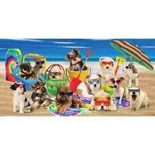 Cool Dogs Velour Beach Towel