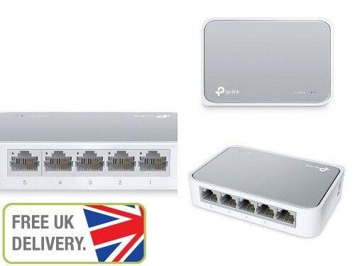 TP-LINK 5Ports 10/100 Mbps Desktop Ethernet Switch LAN Splitter Fast Network Hub