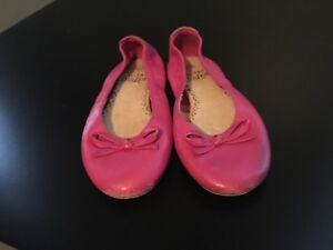 Mini Boden Girls Pink Flats Dress Shoes