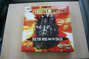 Doctor-Who-and-the-Dalek-Spinomatic-Board-Game-2007-With-Instructions