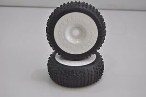 8709-A-Paire-Roues-Complet-Buggy-1-8-Himoto-Hexagone-Interne-17mm-Cercle-Blanc